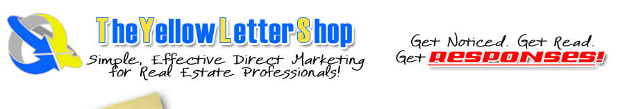 yellowlettershopcom yellow letter direct marketing for real estate professionals